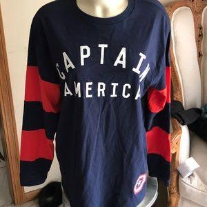 Captain America Men's long sleeve T-shirt